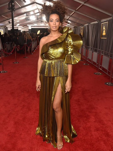 Solange Knowles at The Grammy Awards 2017