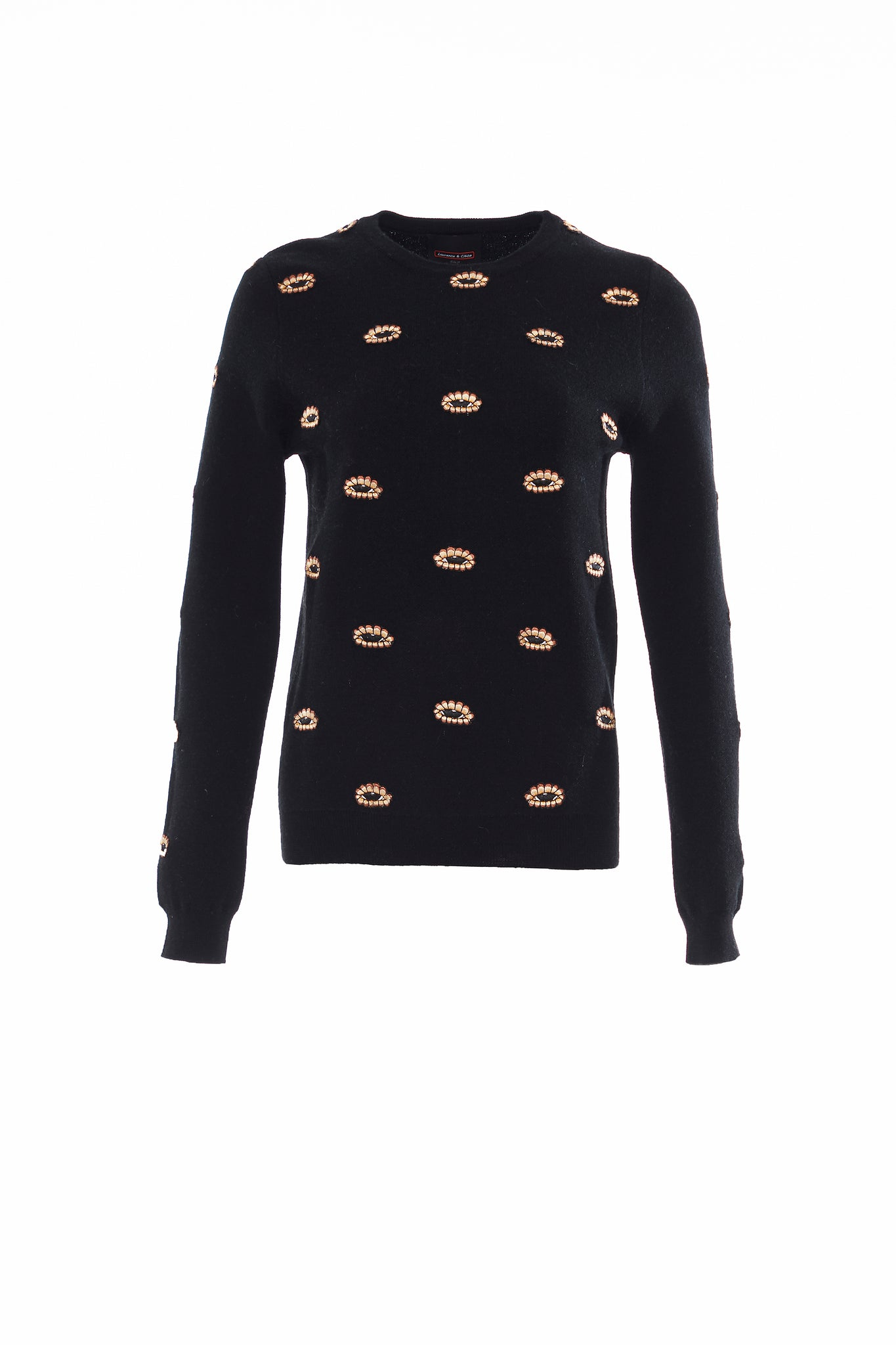 Black Eye embroideries Sweater