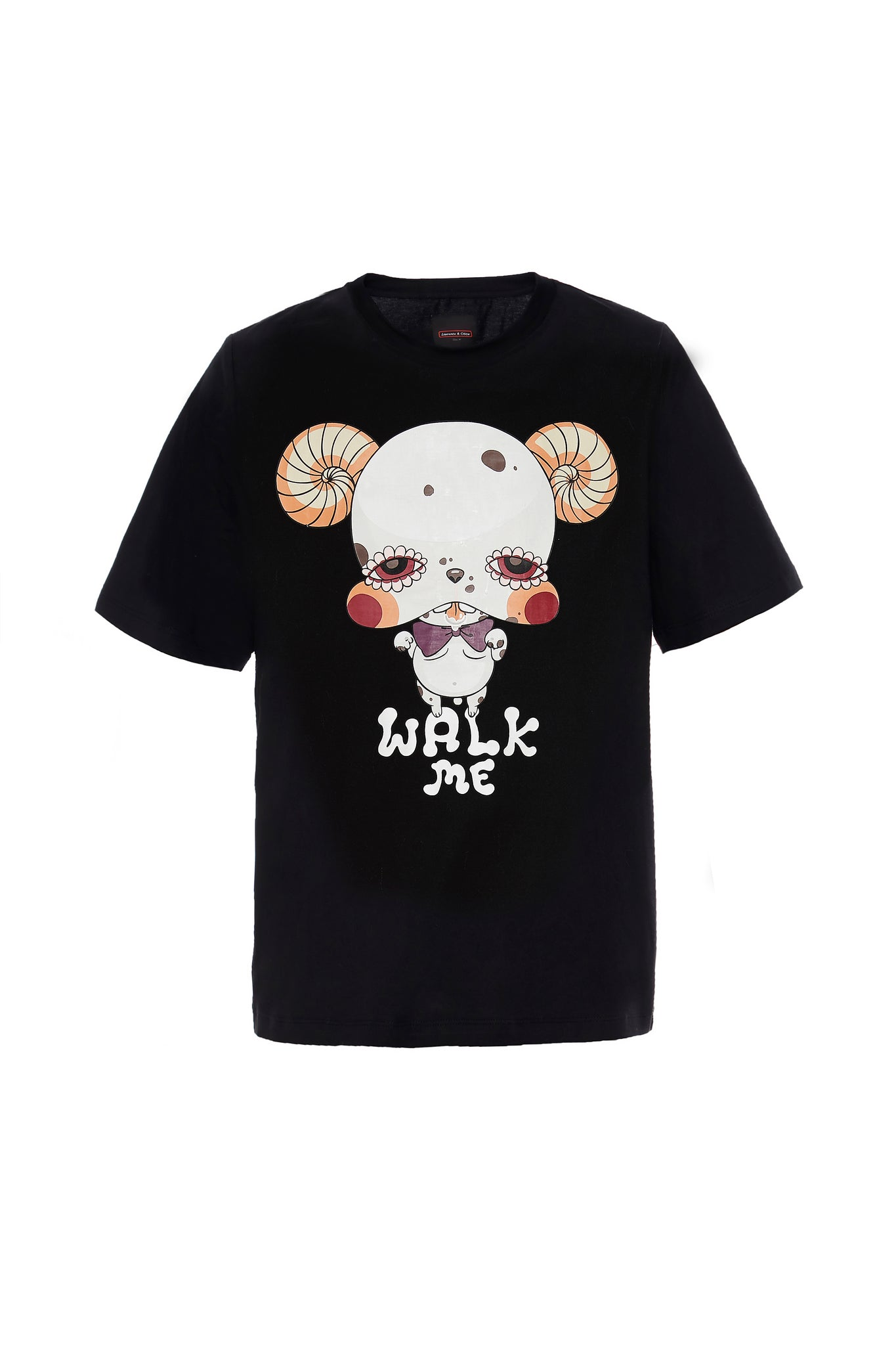 Black Bulldog Tee