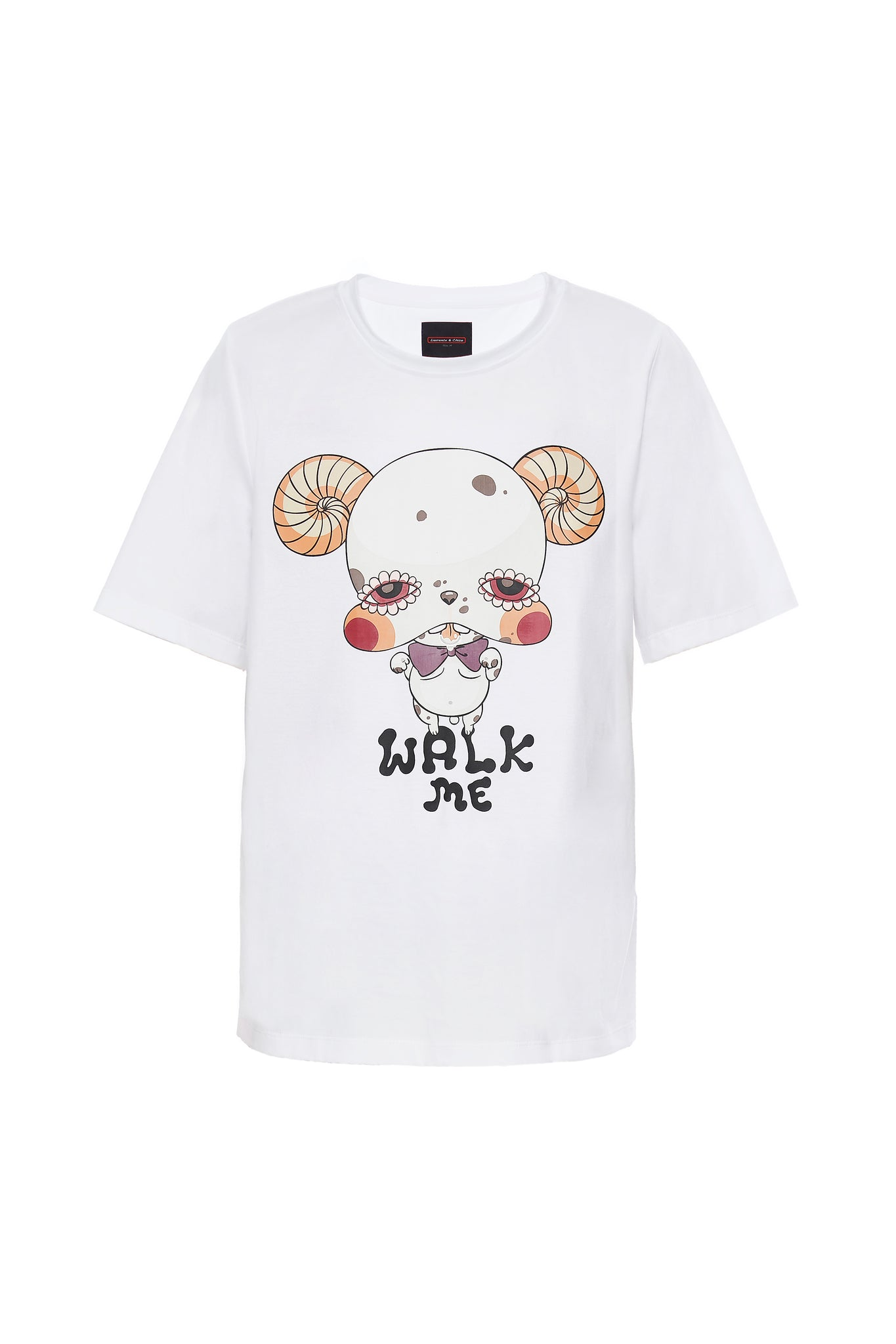 White Bulldog Tee