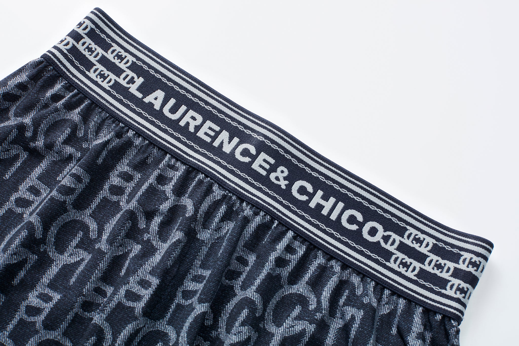 Dark Blue Laulau Chichi Print Legging