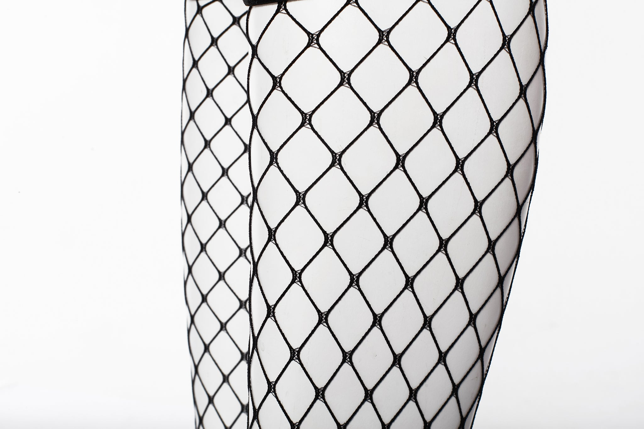Fishnet Knee-High Socks