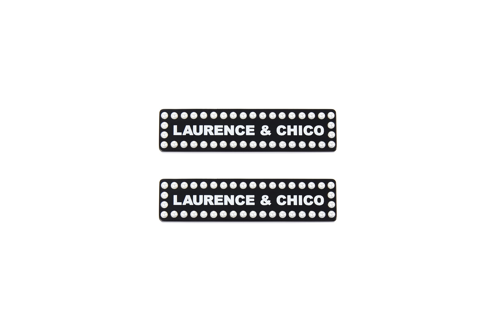 Laurence & Chico Logo Ear Clips