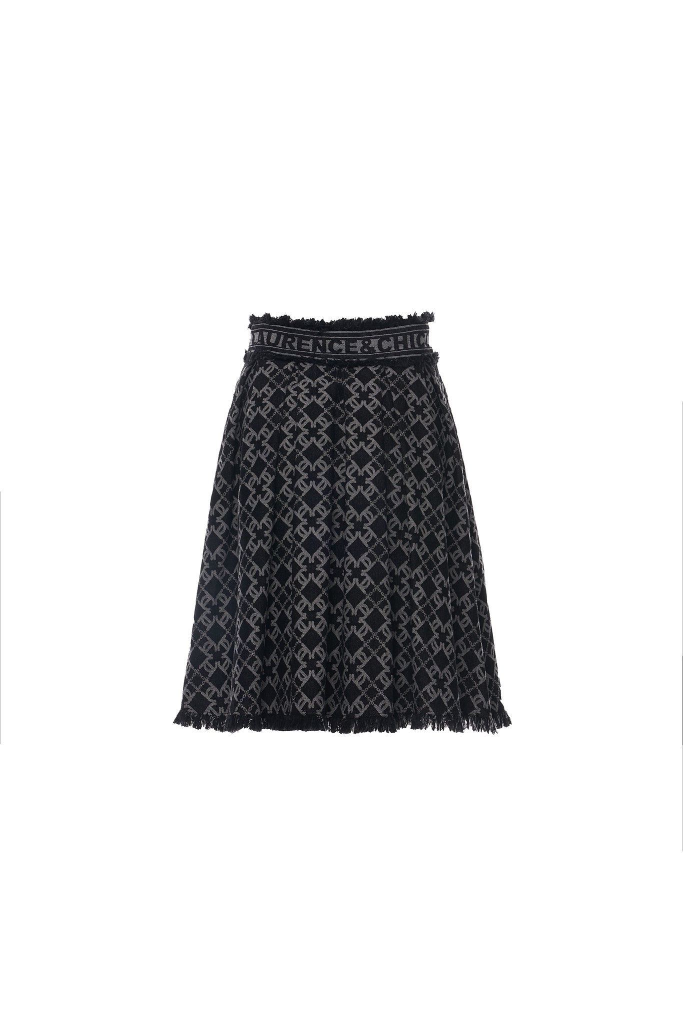 LC Logo Pleated Skirt