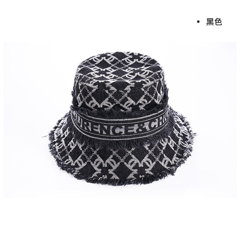 LC Logo Bucket Hat, Small Brim