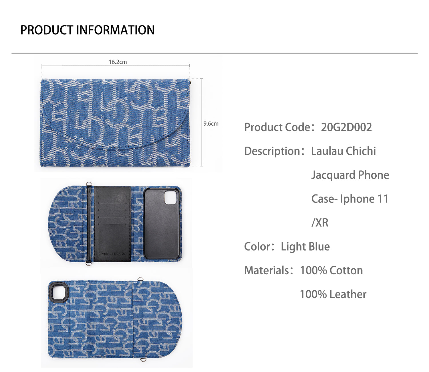 Laulau Chichi Jacquard Phone Case