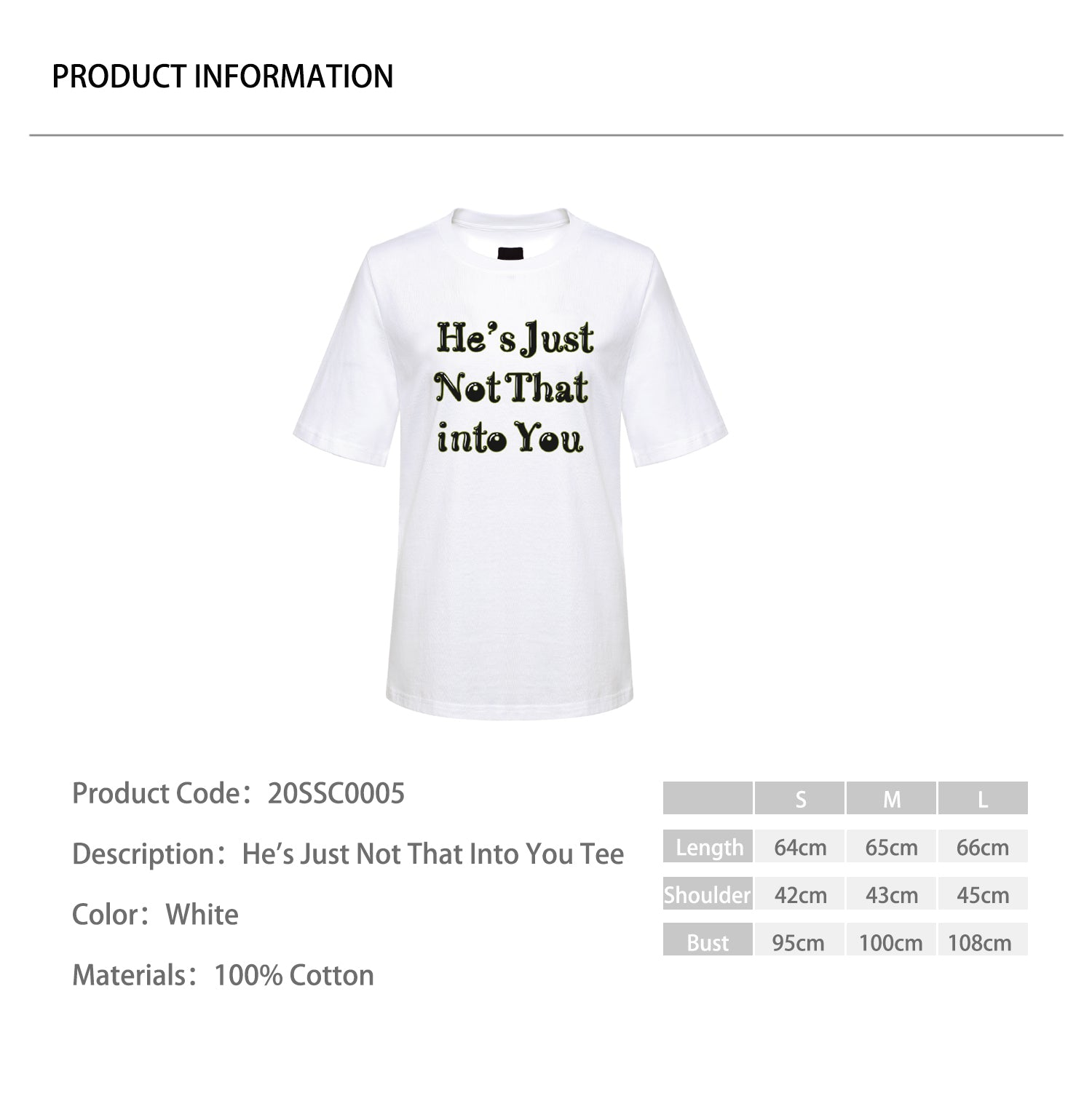 He's Just Not That Into You Tee