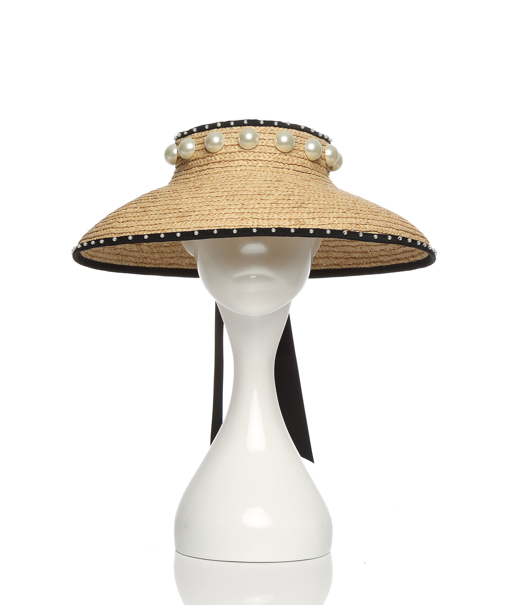 Brim with Pearls