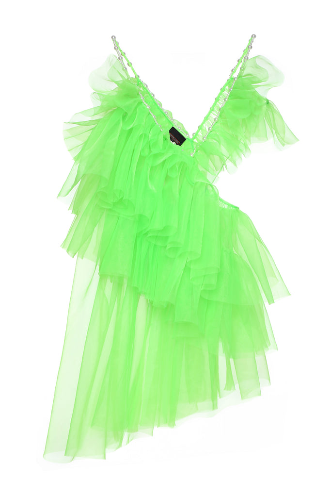 Green Tulle Dress