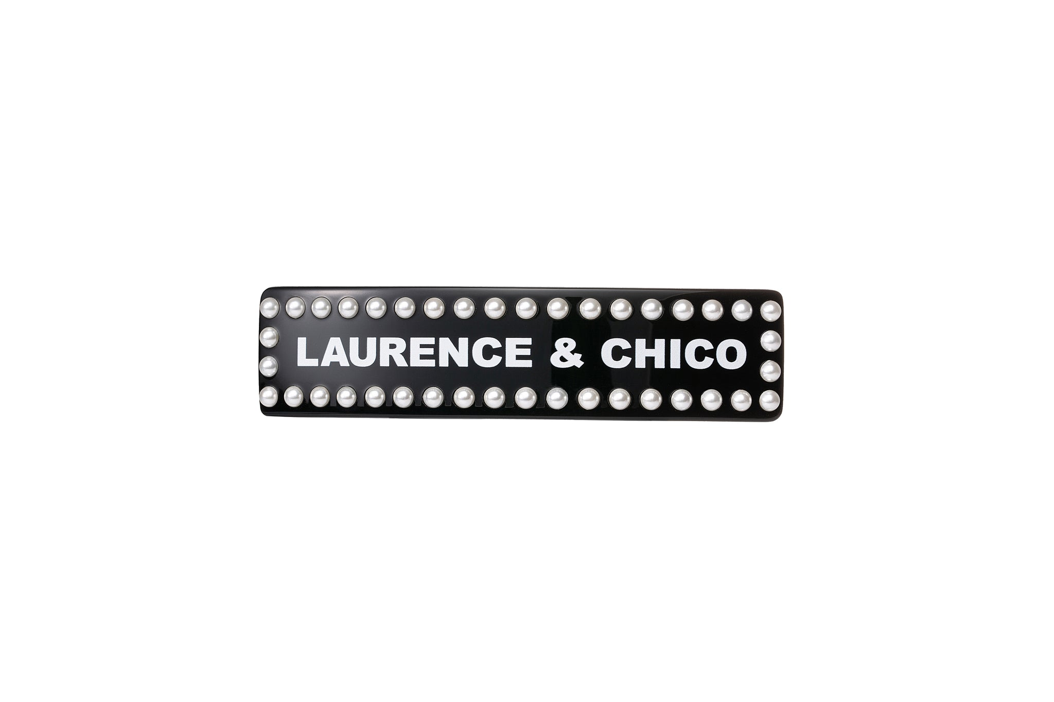 Laurence & Chico Logo Barrette