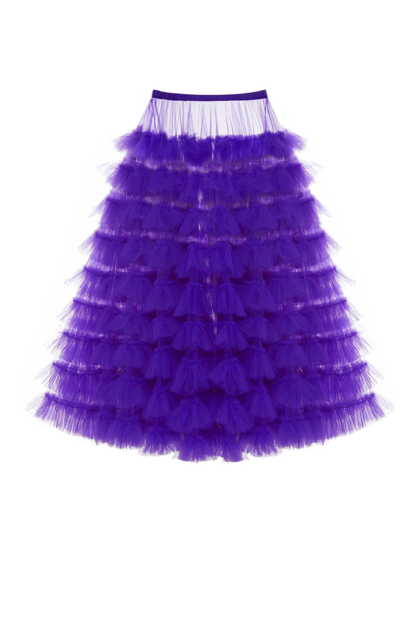 Tulle Skirt, Purple