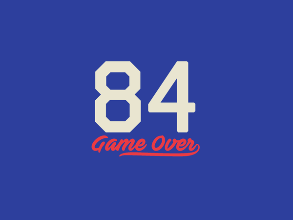 84 by Eric Gagne