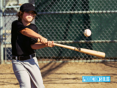 Production's Blog: Why small barrel bats are better for younger players