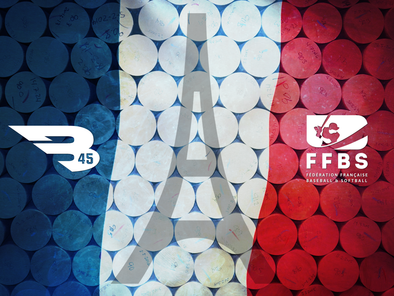 B45 becomes the Official Bat of the French Baseball Federation