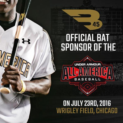 B45 becomes the Official Bat Sponsor of the Under Armour All-America Game