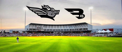 B45 is the Official Bat of the Texas AirHogs