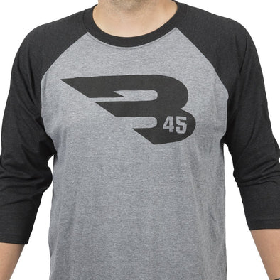 B45 Apparel B45 First To Believe Premium 3/4 Sleeve T-Shirt