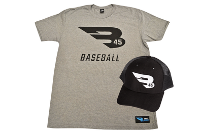B45 Apparel Premium T-Shirt & Trucker Hat Bundle