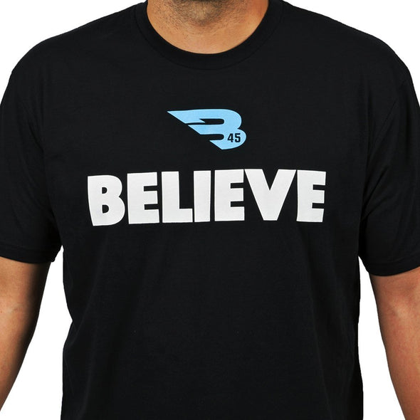 B45 Apparel Small B45 First To Believe Premium T-Shirt | BELIEVE
