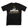 B45 Apparel Small Premium T-Shirt | Lift Separate Celebrate