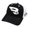 B45 Baseball Apparel Black/White B45 Trucker Hat - New Collection