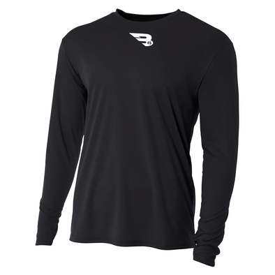 B45 Baseball Apparel Relaxed Long Sleeve Performance T-Shirt
