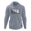 B45 Baseball Apparel Small / Heather Gray Fleece Hoodie