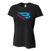B45 Baseball Apparel X-Small / Black Women's T-Shirt