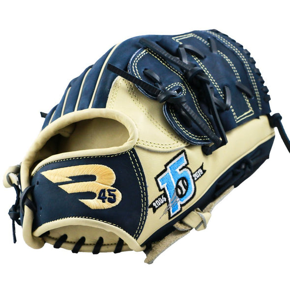 "B45 Baseball Fielding Gloves Pro Series 12.25"" Closed Web Baseball Glove 