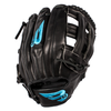 "B45 Fielding Gloves Right-Hand Throw / Black Pro Series 11.5"" H-Web Baseball Glove"