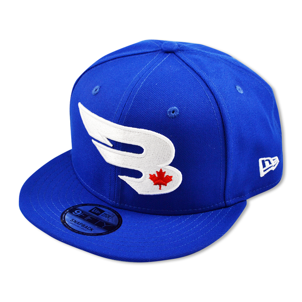 New Era Cap Headwear Small-Medium Royal 9FIFTY New Era Snapback Hat | Canada Edition