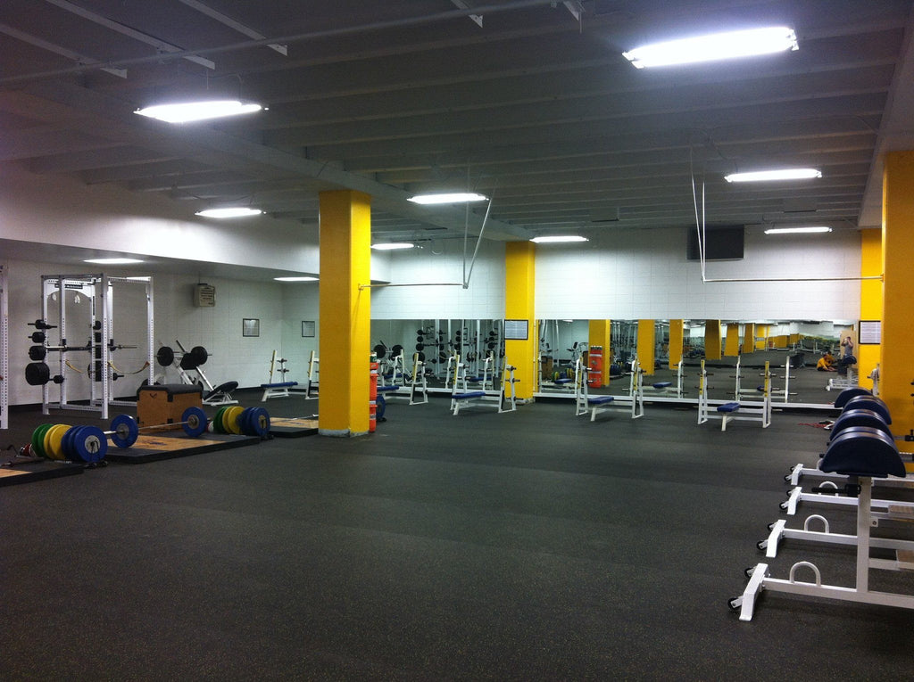 Murray State University Rubber Flooring