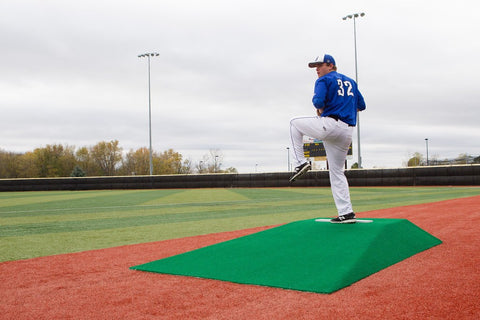 "TruePitch 10"" Fiberglass Portable Baseball Pitching Bullpen Mound 1010"