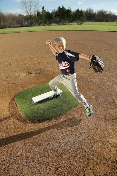"Portolite 6"" Portable Stride Off Baseball Pitching Game Mound 4468 - Kodiak Sports, LLC - 1"