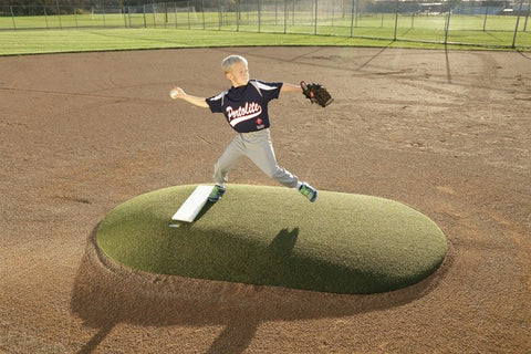 "Portolite 6"" Portable Baseball Pitching Game Mound 6107 - Kodiak Sports, LLC - 1"