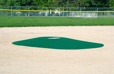 "TruePitch 10"" Fiberglass Portable Baseball Pitching Game Mound 202-6 - Kodiak Sports, LLC"