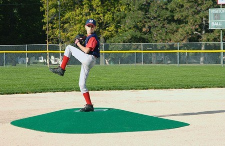 "TruePitch 8"" Fiberglass Portable Baseball Pitching Game Mound 202-8 - Kodiak Sports, LLC - 1"