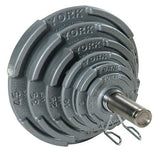 York 2″ Quad-Grip Olympic Plate