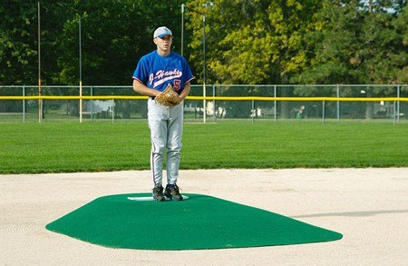 "TruePitch 10"" Fiberglass Portable Baseball Pitching Game Mound 600G - Kodiak Sports, LLC - 1"