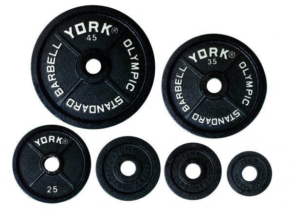 York 2″ International Cast Iron Olympic Plate