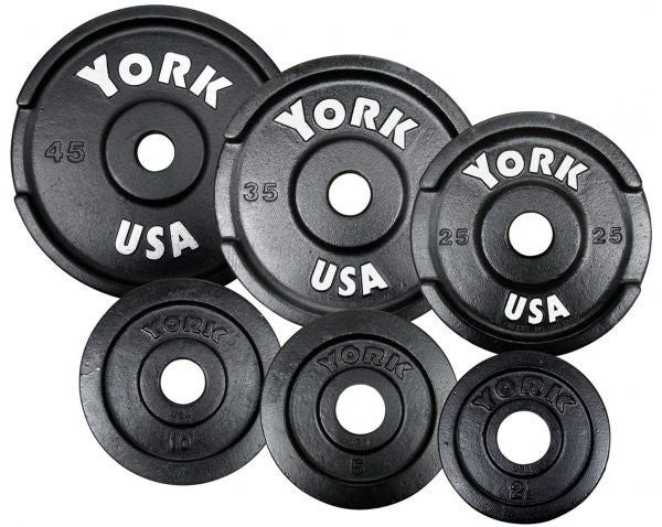 York 2″ Cast Iron Olympic Pick Up Plate