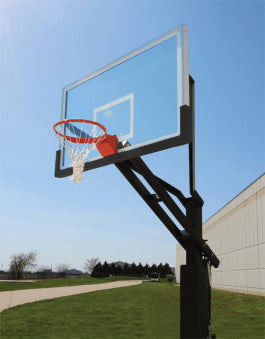 "Big Shot Pro 72"" x 42"" Basketball System 9572"
