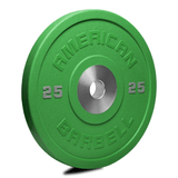 American Barbell Pro Urethane COLOR Bumper Plates (LBS)