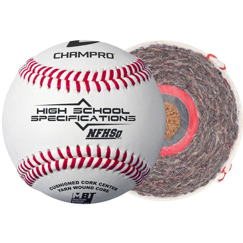 Champro NFHS High School Specification Baseball (dozen)