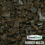 Brown Rubber Mulch