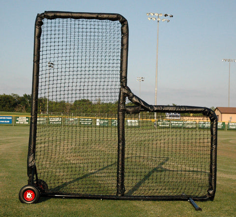 Kodiak 8' x 8' Pro Padded Wheeled L-Screen - Kodiak Sports, LLC - 1