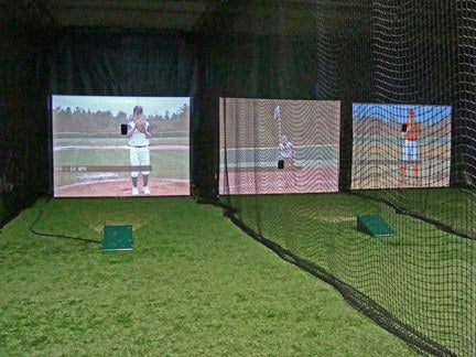 All Star 5000 Video Pitching Simulator for Baseball or Softball - Kodiak Sports, LLC - 1