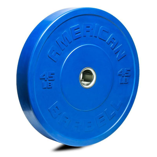 American Barbell Sport Rubber COLOR Bumper Plates (lbs)