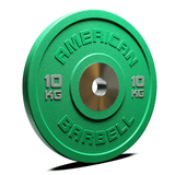 American Barbell Pro Urethane COLOR Bumper Plates (KG)