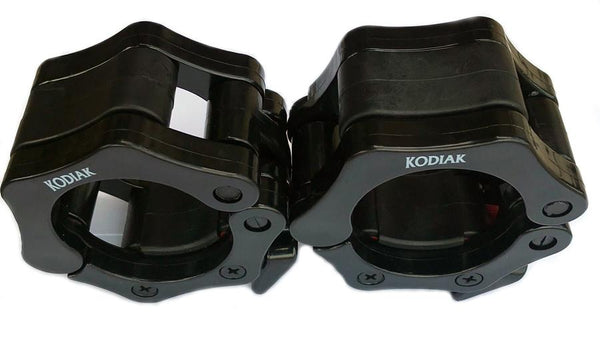 Kodiak Sports Plastic Quick Lock Olympic Bar Collars (pair)